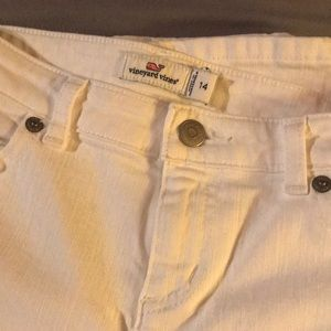 Vineyard Vines White Skinny Jeans